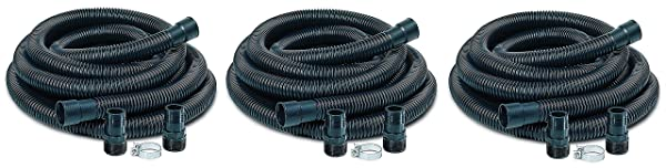 Little Giant SPDK Sump Pump Discharge Hose Kit, 1-1/4 Hose - 1-1/2 & 1-1/4 Adaptors, 24-Feet (?hr?? P?ck) (Tamaño: ?hr?? P?ck)