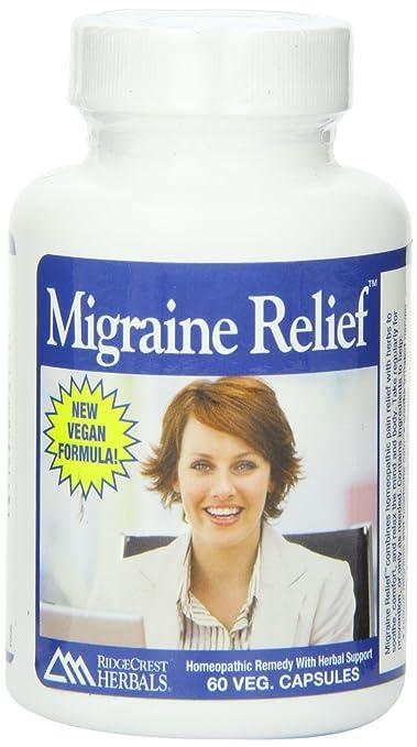 Отзывы Ridgecrest Herbals Migraine Relief