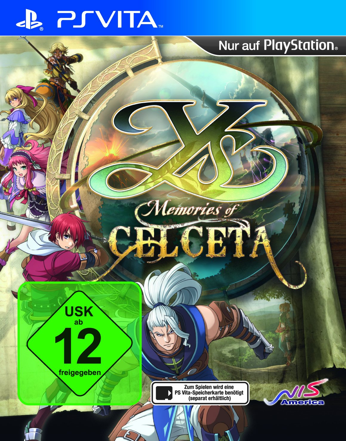product photo for Ys: Memories of Celceta