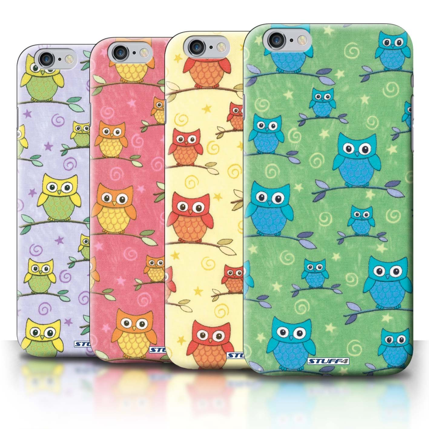 STUFF4 Phone Case / Cover for iPhone 6+/Plus 5.5 / Pack (11 pcs) / Cute Owl Pattern Collection / by Deb Strain / Penny Lane Publishing, Inc.Customer review and more description