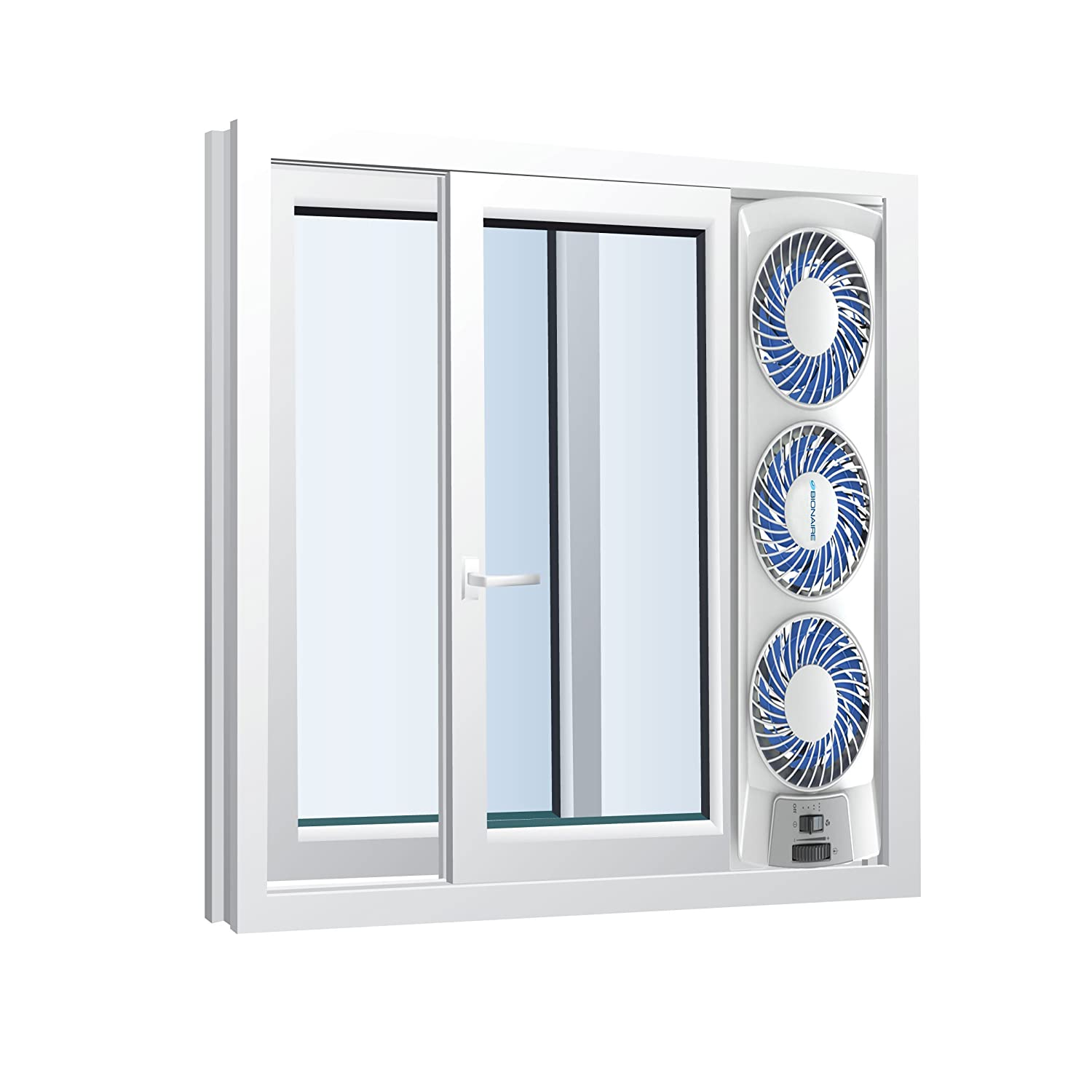 New Independent Reversible Thermostat Fan Window Speed 3