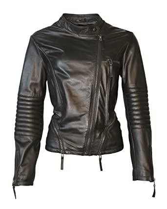 JCC Lederjacke, Damen Barlinka (black)