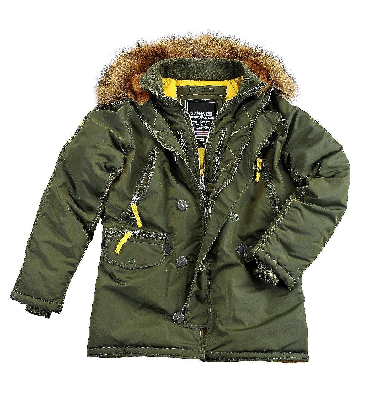 alpha Industries PPS N3B Herren Jacket Parka Winterjacke Mantel 30073 jetzt kaufen