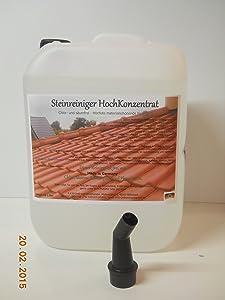 AKB Steinreiniger Vollkonzentrat,sehr stark gegen Flechten & Pilze,0241,(10 Liter + 1 Ausgiesser))  GartenKundenbewertung: