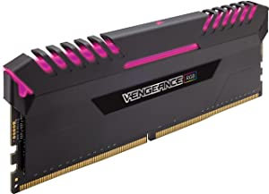 CORSAIR Vengeance RGB 16GB (2x8GB) DDR4 3200MHz C16 Desktop Memory - Black (Color: RGB - Black, Tamaño: (2x8GB))