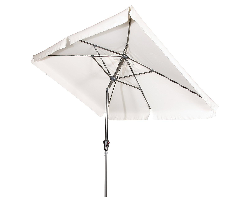 """Doppler Kurbelschirm """"Basic Lift 210×140"""" mit Knicker in natur, UV-Schutz 50 Plus bestellen"""