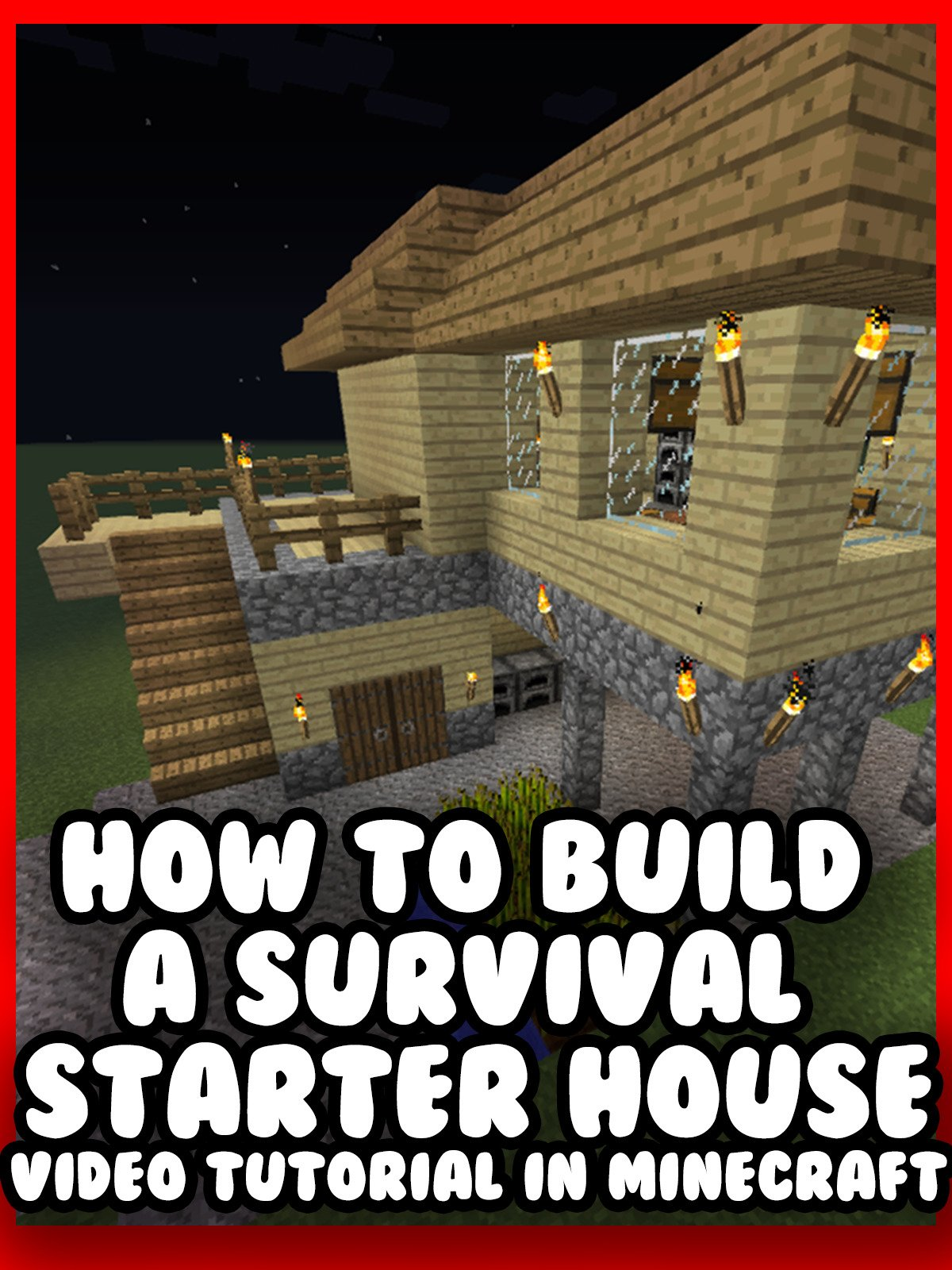 Clip: How to Build a Survival Starter House