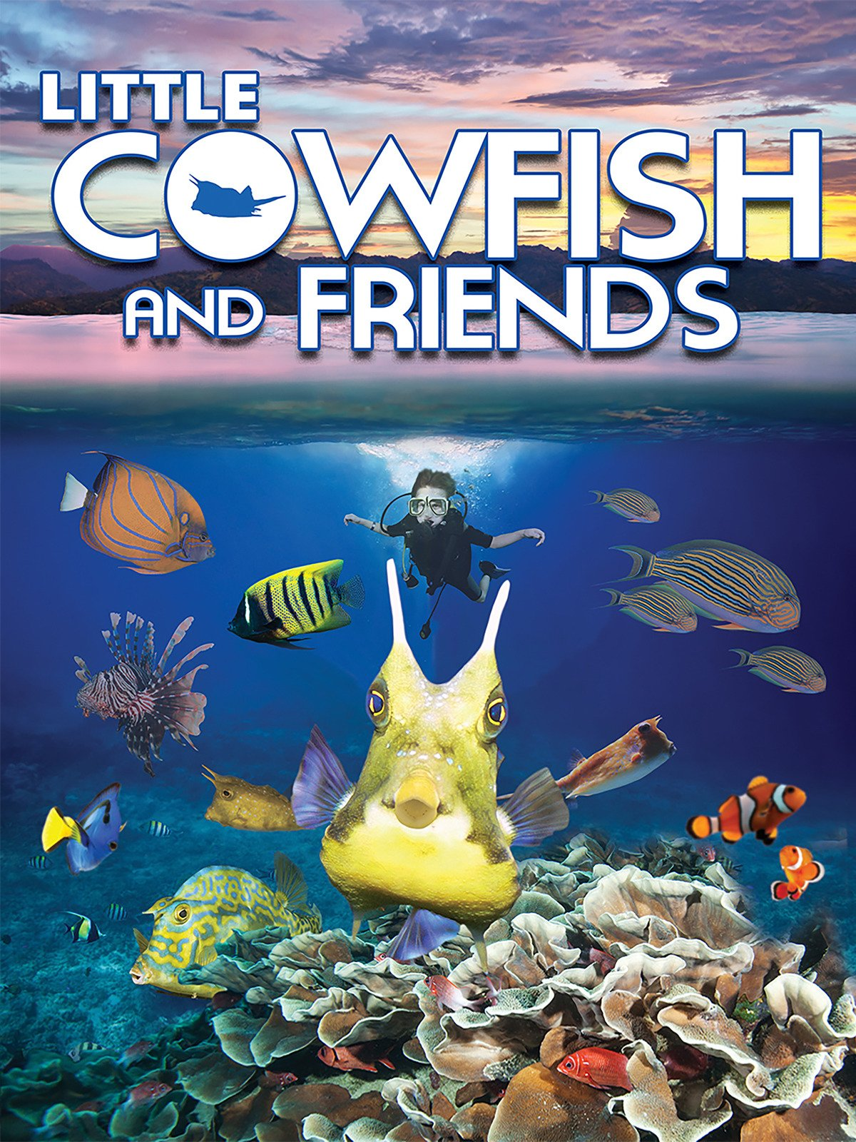 Little Cowfish And Friends