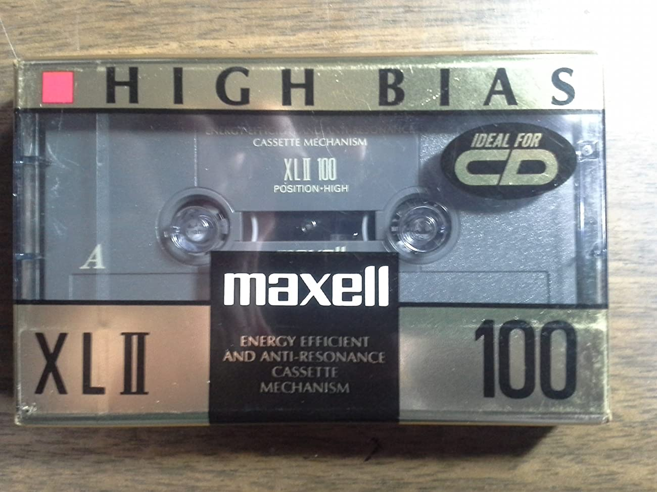 Maxell High Bias XLII 100 Minutes Blank Audio Cassette Tape (100 Minutes) 0