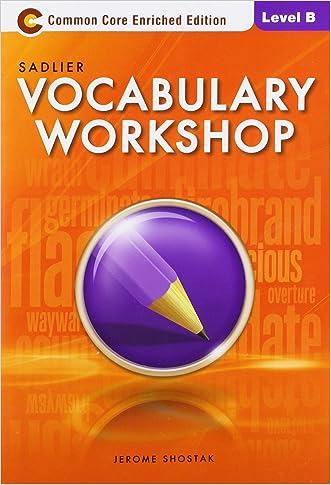 Vocabulary Workshop Level B
