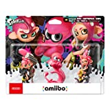 Nintendo Splatoon Series - Octoling Amiibo 3-pack - Switch