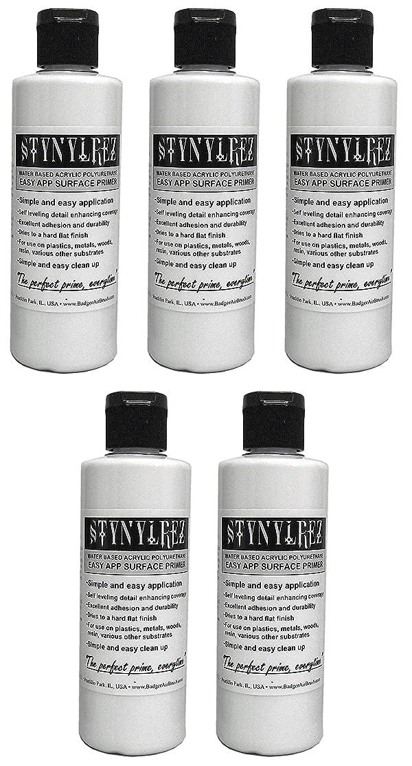 Badger Air-Brush Co. Stynylrez SNR-401 Primer 4 Ounce White (???k ?f F?v?) (Tamaño: ???k ?f F?v?)