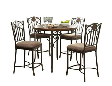 Powell Abbey Road Gathering 5-Piece Dining Table Set