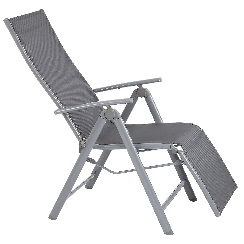 Ultranatura Aluminium Relax-Sessel mit Armlehne, Korfu-Serie – 73 x 60 x 112 cm online bestellen