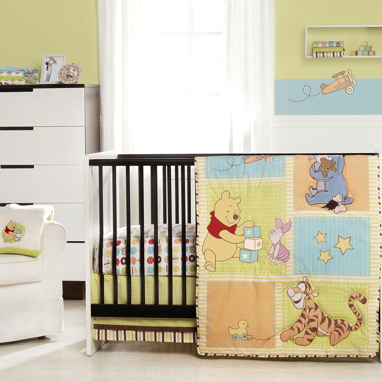 Winnie the Pooh Tidy Time Crib Bedding