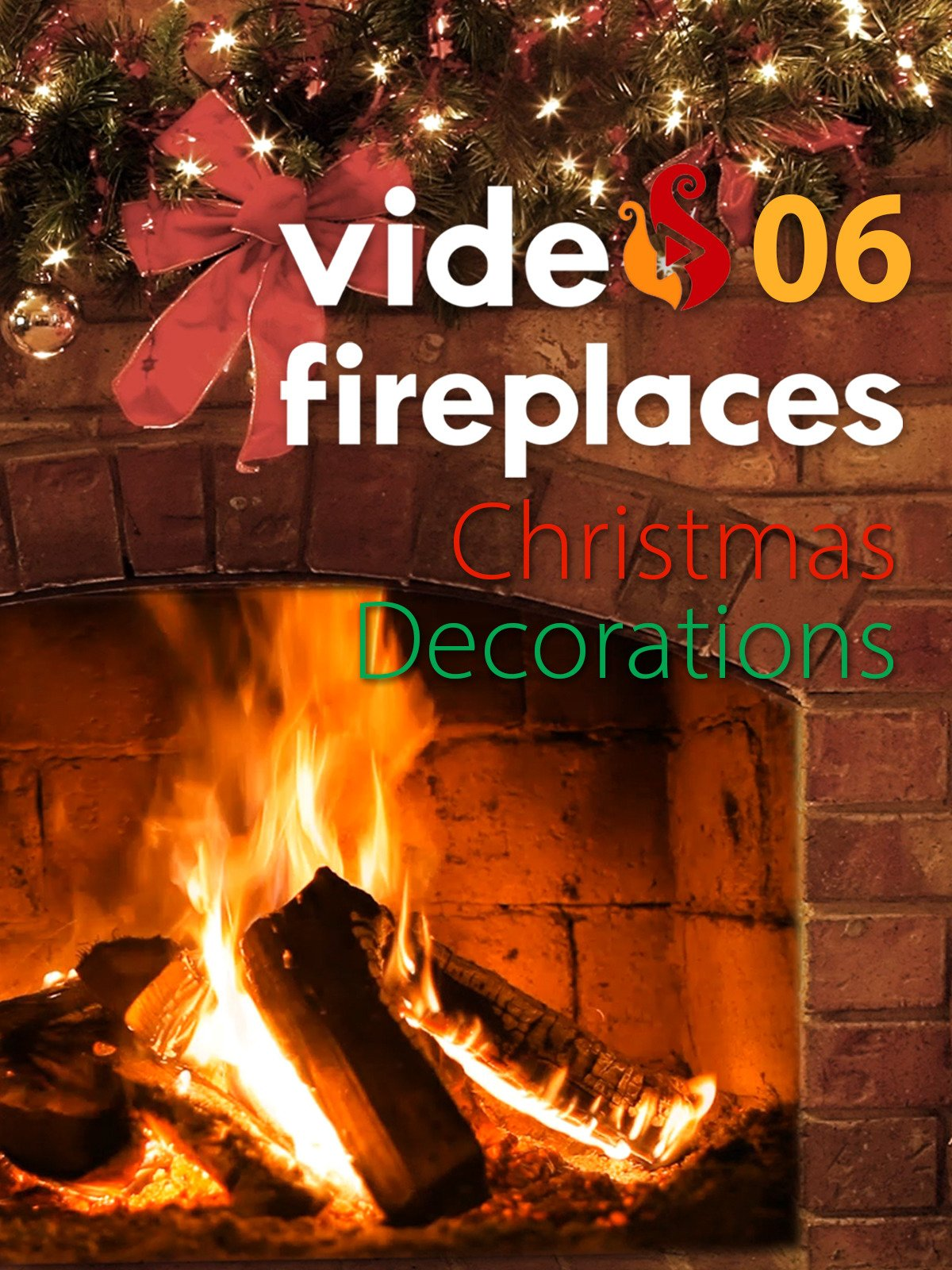 Video Fireplace 06 & Christmas Decorations