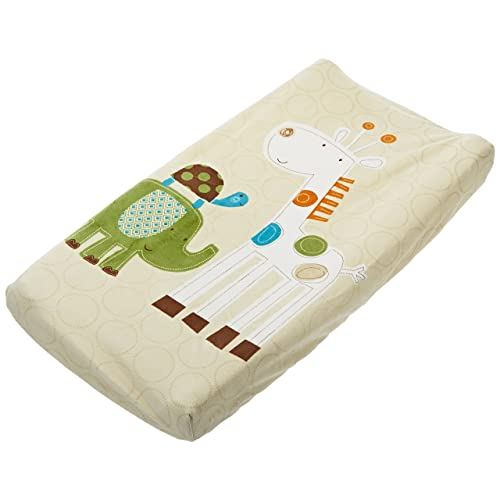 Summer Infant Infant Character Change Pad Cover Safari Stack