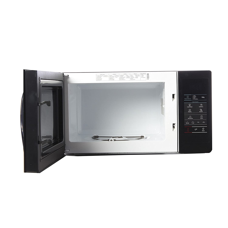 B And Q Kitchen Appliances Samsung 20 L Solo Microwave Oven Mw73ad B Xtl Black Amazonin