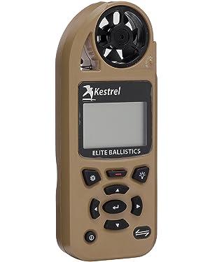 Kestrel 5700 Elite Weather Meter with Applied Ballistics, Tan (Color: Tan, Tamaño: Standard Non-LiNK)