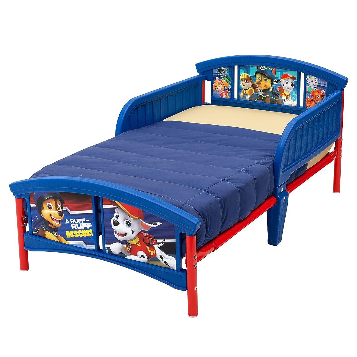 Delta Children Plastic Toddler Bed, Nick Jr. PAW Patrol