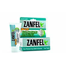 Zanfel Poison Ivy, Oak and Sumac Wash, 1 oz Tube