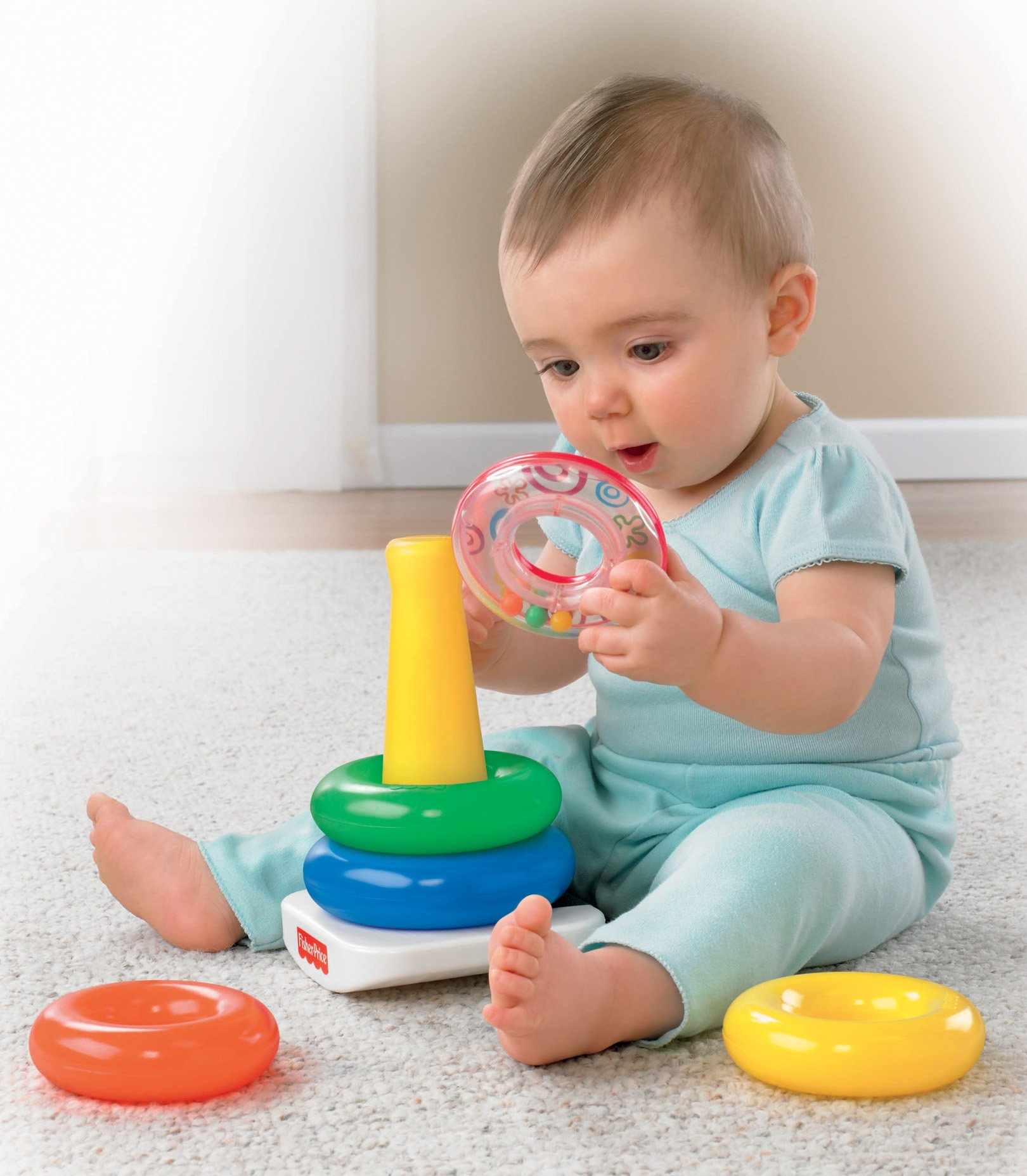 Brilliant Basics Fisher Price Rock Stack