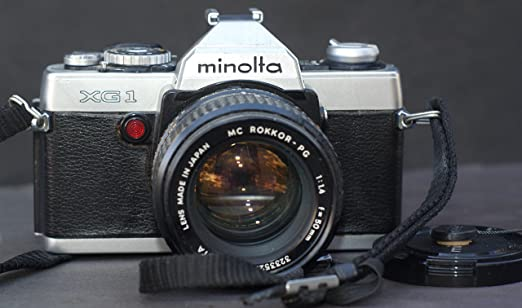 Minolta Xg-1 Light Meter Minolta Xg-1 35mm Camera