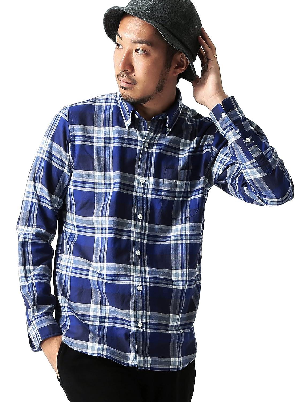 Amazon.co.jp: (ビームス) BEAMS / チェックボタンダウンシャツ: 服&ファッション小物通販
