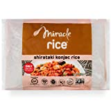 Miracle Noodle Zero Carb, Gluten Free Shirataki Rice (Packaging May Vary), 8-Ounce, (Pack of 6) (Tamaño: 8 Ounce (Pack of 6))