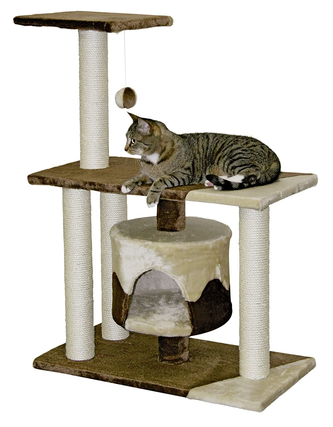 Cat Tree With Sisal Posts