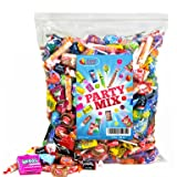 Assorted Candy Party Mix, 5 LB Bulk Bag: Fire Balls, Airheads, Jawbusters, Laffy Taffys, Tootsie Rolls and Much More of Your Favorite Candy! (Tamaño: Party Mix)