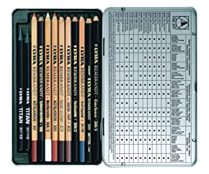 LYRA Rembrandt Art Specials Pencils, Set of 12, Assorted Colors (2001123) (Color: Assorted)
