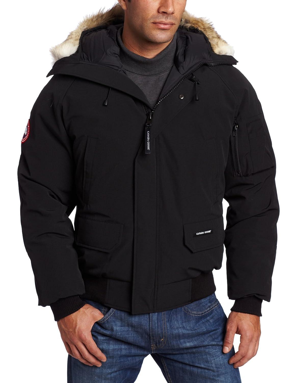 Canada Goose Men's Chilliwack Front-Zip Jacket with Fur Trimmed Hood