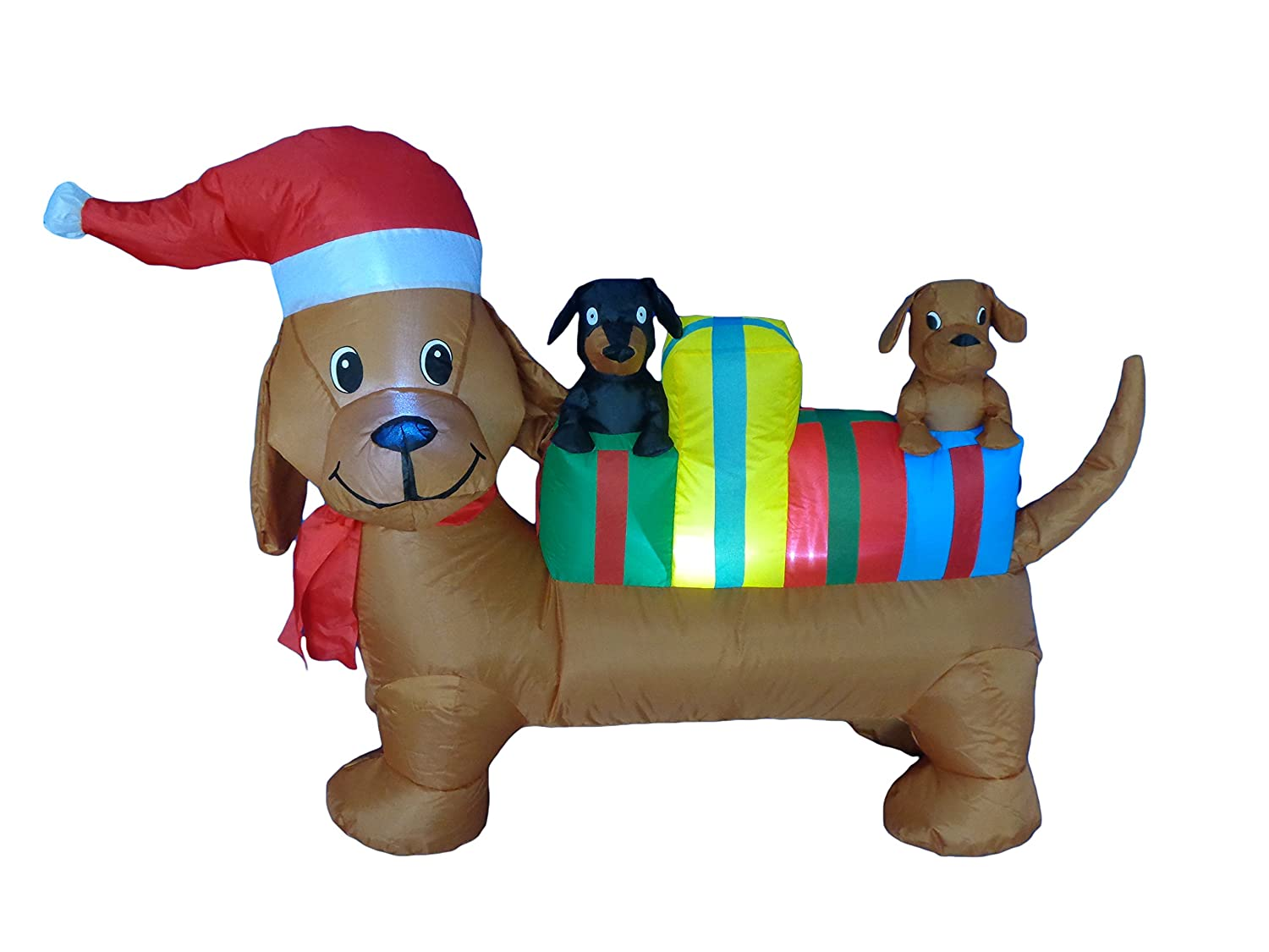 Christmas puppy dog inflatables wikii