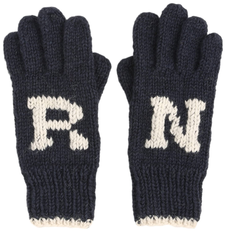 Amazon.co.jp: (アールエヌエーエヌ)RNA ネパール製ロゴ入手編み手袋 E4020 006 チャコールグレー F: 服&ファッション小物通販