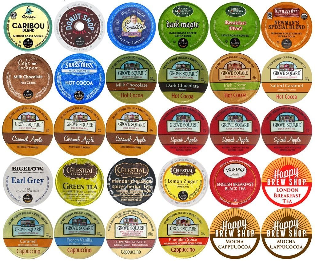 Strong Coffee Brands 30-count Top Brand Coffee