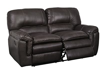 Global Furniture Reclining Loveseat, Gin Rummy Seal