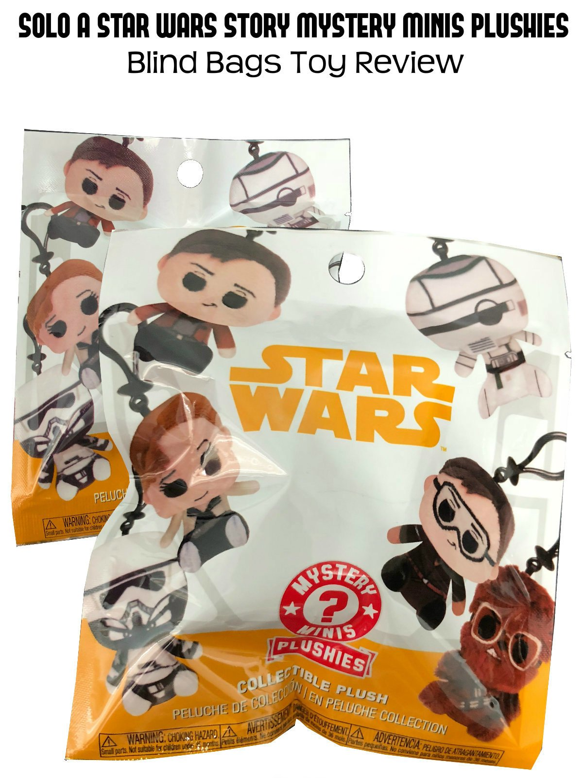 Review: Solo A Star Wars Story Mystery Minis Plushies Blind Bags Toy Review on Amazon Prime Video UK