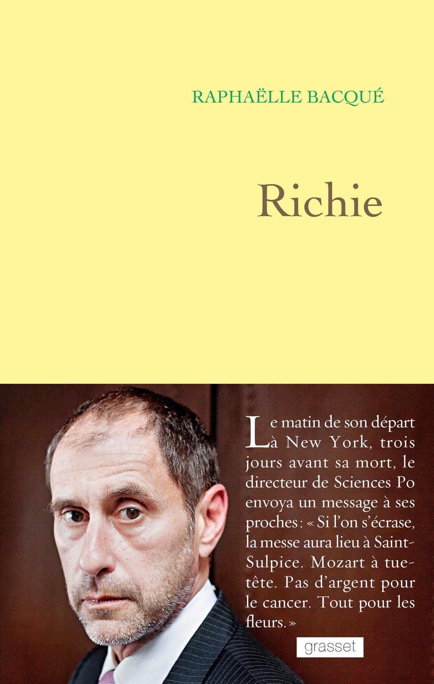 Richie - Raphaëlle Bacqué