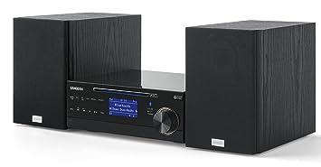 Sangean DMS-37BT Chaîne Hi-Fi avec Bluetooth 50 W Noir