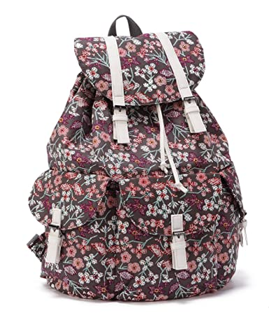 ENVOY Women's Floral Vintage Backpack (coffee)