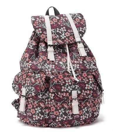 ENVOY Women's Floral Vintage Backpack (coffee)