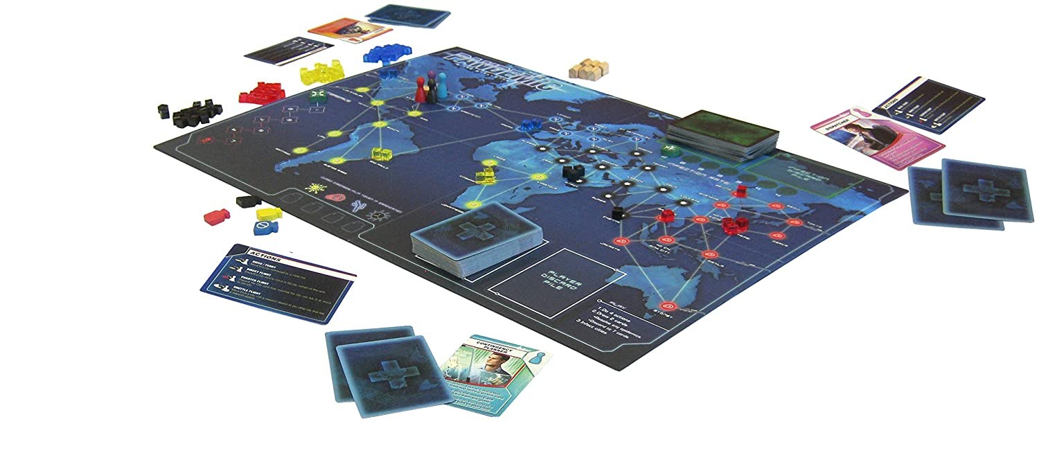 pandemic 2 player strategy game