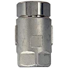 "Dixon 62-105 Stainless Steel 316 Ball Cone Check Valve, 1"" NPT Female"