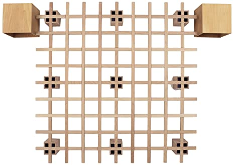 Tojo Bett | Tojo system Funktionsbett |200 x 200 cm | Ideal als Gästebett / Studentenbett / Jugendbett | Das flexible Raumwunder | Unbehandeltes Holzbett ohne Schrauben / Beschläge