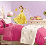 RoomMates Disney - Princess Belle Peel and Stick Giant Wall Decals (Color: Multicolor, Tamaño: 10 Inch)
