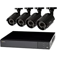 Q-See QTH83-4CN-1 8 Channel 4 Camera Security System with 1TB HDD DVR (Black)