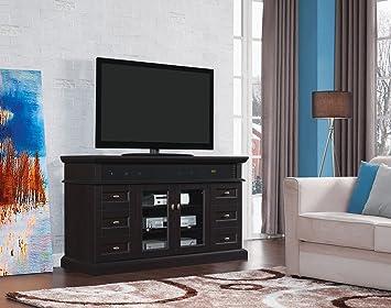 Tresanti Stanza Multi-Function Media Cabinet, Espresso
