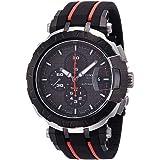 Tissot T-Race MotoGP Black Dial SS Rubber Automatic Men's Watch T0924272706100 (Color: Black)
