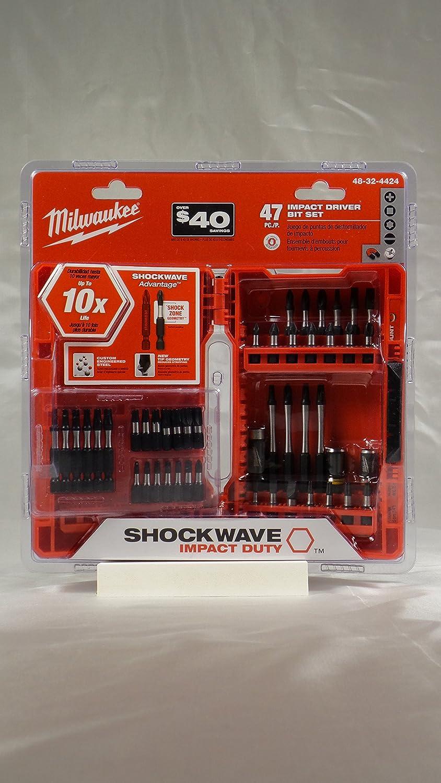 Milwaukee Shockwave Impact Driver Bit Set (47-Piece) shockwave